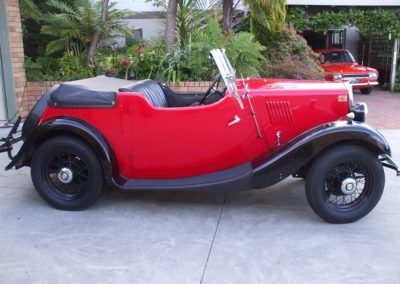 1936 Morris Eight Series I Sports