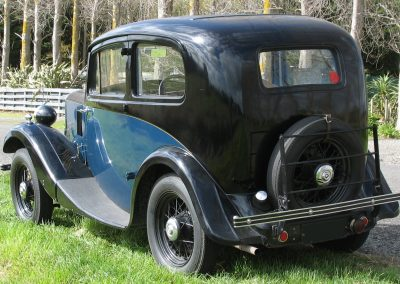 1935 Morris Eight Series 1 two door Saloon | Rear