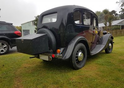 1938 Morris Eight Series II Four Door Saloon - Rear